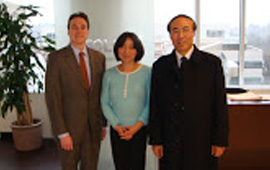 With USPTO ex-Director Dudas  and PRC Supreme People's  Court Retired Justice Jiang