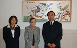 With US Supreme Court Justice and  PRC Supreme Court Justice